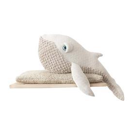 Bigstuffed Pehmolelu Whale Albino Small