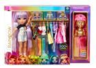 RAINBOW HIGH Muotistudio-nukke ja leikkisetti, 29 cm