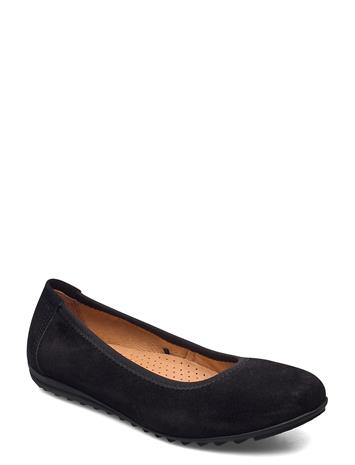 Laze Luxury Classic Ladies Shoes Ballerinat Musta Laze BLACK
