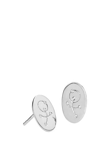 Izabel Camille Miss Q Accessories Jewellery Earrings Studs Hopea Izabel Camille SHINY SILVER