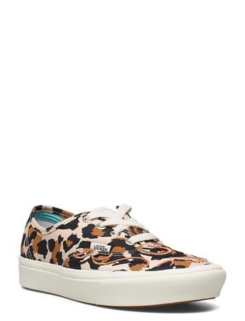 VANS Ua Comfycush Authentic Matalavartiset Sneakerit Tennarit Beige VANS (FLAMEEMBRODRY)LPRDMSHMLW, Naisten kengät