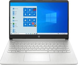 """HP Laptop 14s-fq0018no (Ryzen 5 4500U, 16 GB, 512 GB SSD, 14"""", Win 10), kannettava tietokone"""