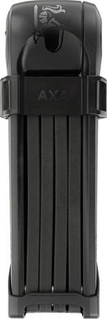 Linkkulukko AXA Fold 85, 85cm, taitettava, musta