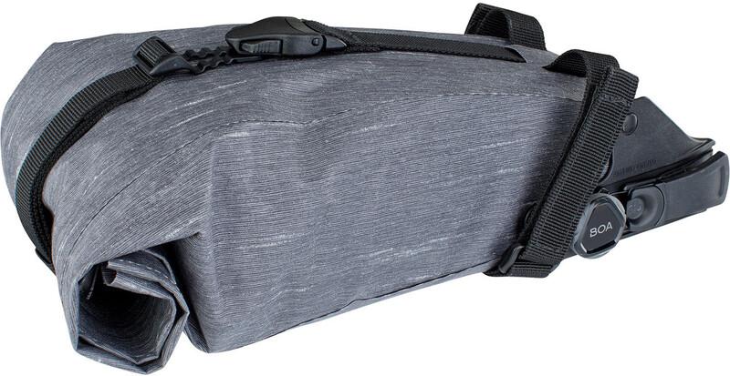 Evoc Seat Bag Boa -polkupyörän satulalaukku, harmaa, 2 litraa