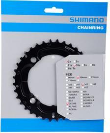 Shimano Deore FC-M617 eturattaat 10-vaihteinen, black