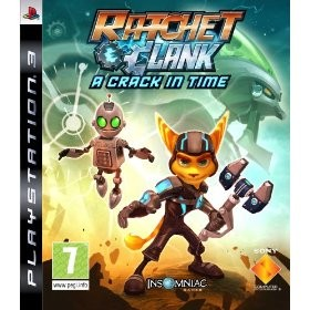 Ratchet and Clank Future: A Crack in Time, PS3-peli