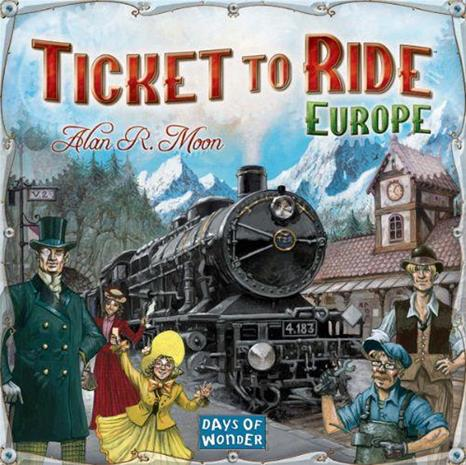 Menolippu Eurooppa (Ticket to Ride Europe), lautapeli
