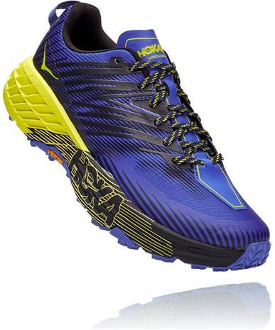 Hoka One One Speedgoat 4 Shoes Men, violetti/keltainen