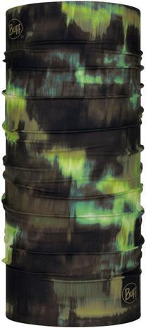 Buff Original Monikäyttöhuivi, musta/vihreä, Miesten hatut, huivit ja asusteet