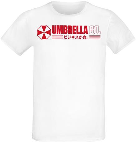 Resident Evil - Village - Umbrella Co. - T-paita - Miehet - Valkoinen