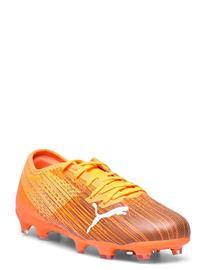 PUMA Ultra 2.1 Fg/Ag Jr Shoes Sports Shoes Football Boots Oranssi PUMA SHOCKING ORANGE-PUMA BLACK
