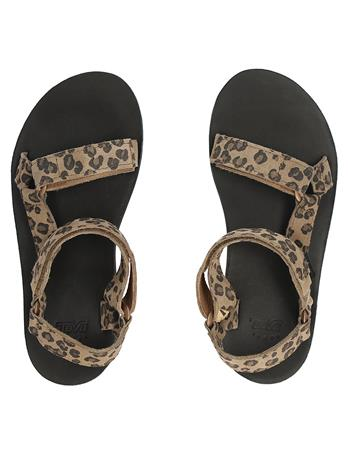 Teva Midform Universal Leopard Sandals leopard black Naiset