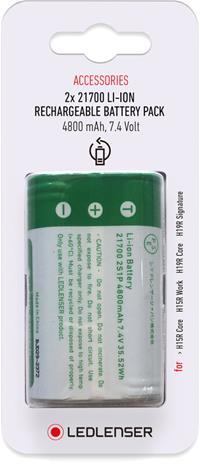 Ledlenser 21700 Li-ion Rechargeable Battery Pack 2x