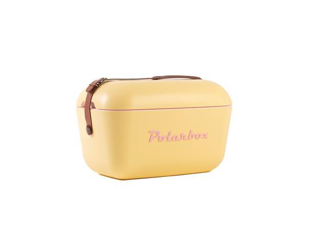 Polarbox Classic keltainen 12l kylmälaukku