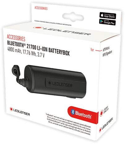 Ledlenser Bluetooth 21700 Battery Box