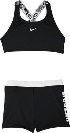 Nike Swim JDI Crossback Sport Bikinit Tytöt, musta