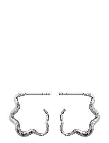 Maanesten Carin Earring Accessories Jewellery Earrings Hoops Hopea Maanesten SILVER