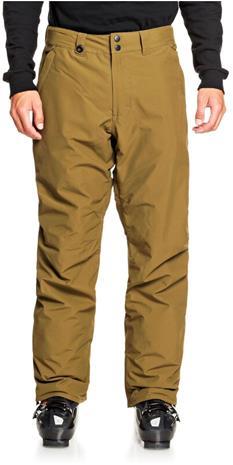 Quiksilver Estate Snowboard Pants Men, oliivi