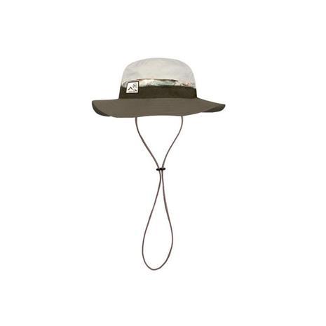 Buff Booney Hat Randall Brindl pakkautuva lierihattu hihnalla