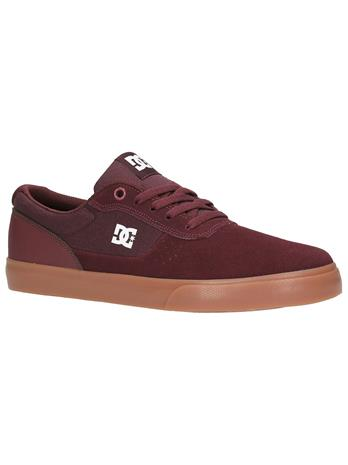 DC Switch Skate Shoes burgundy