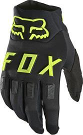 Fox Legion Gloves Men, musta/keltainen