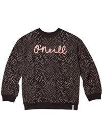 O'Neill Print Crew Sweater black aop w / white Tytöt