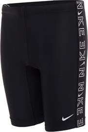 Nike Swim Logo Tape Jammers Boys, musta, Lasten uima-asut