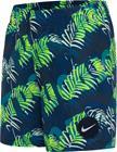 "Nike Swim JDI Tropic 4"""" Volley Shorts Boys, sininen/vihreä"