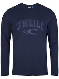 O'Neill State Long Sleeve T-Shirt ink blue Miehet