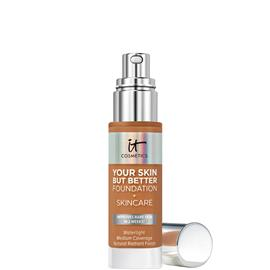 IT Cosmetics Your Skin But Better Foundation and Skincare 30ml (Various Shades) - 44 Tan Warm