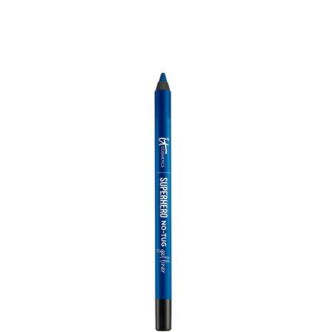 IT Cosmetics Superhero No-Tug Gel Eyeliner 1.2g (Various Shades) - Bold Blue