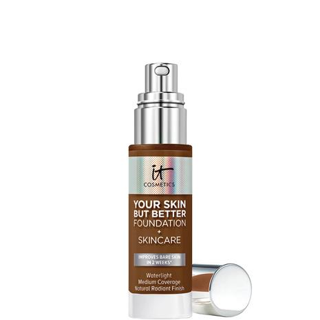 IT Cosmetics Your Skin But Better Foundation and Skincare 30ml (Various Shades) - 60 Deep Warm