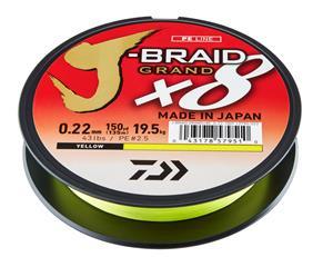 Daiwa J-Braid X8 Grand 300m kuitusiima