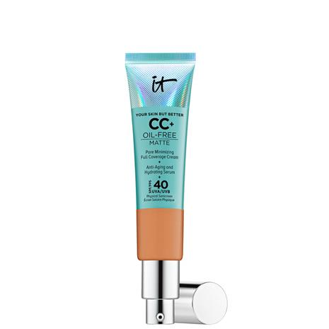 IT Cosmetics Your Skin But Better CC+ Oil-Free Matte SPF40 32ml (Various Shades) - Tan