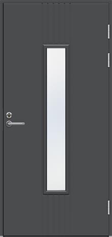 Ulko-ovi Swedoor Function F2050 W28 Tummanharmaa