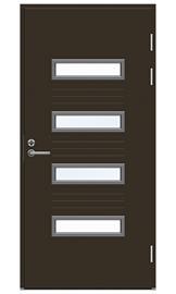 Ulko-ovi Swedoor Function F2054 W53 Tummanruskea