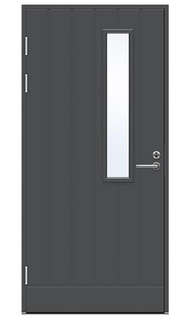 Ulko-ovi Swedoor Function F1894 W22 Tummanharmaa