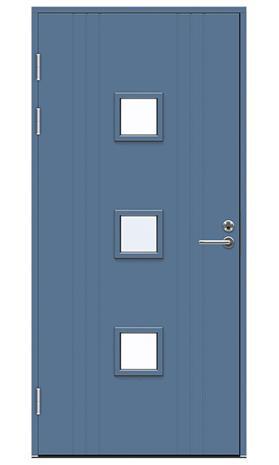 Ulko-ovi Swedoor Function F2053 W83 Sininen