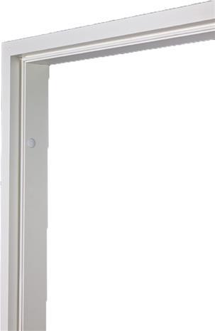 Karmi Swedoor 613 Pariovelle Valkoinen 92 mm