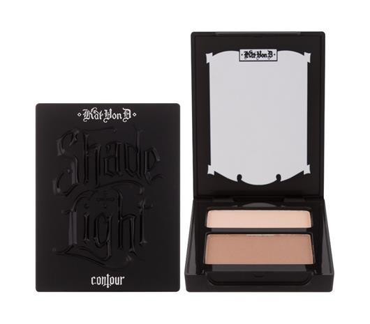 KVD Vegan Beauty Shade + Light Contour Duo meikkipaletti 6,8 g, Light