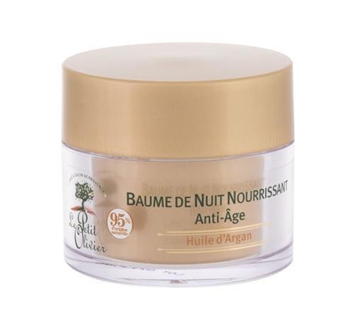 Le Petit Olivier Argan Oil Nourishing Night Balm yövoide 50 ml