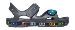 "Crocsâ""¢ lasten vapaa-ajan kengät Fun Lab Car Sandal, harmaa 26"