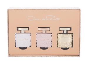 Oscar de la Renta Mini Set EDP lahjapakkaus naiselle 5 ml