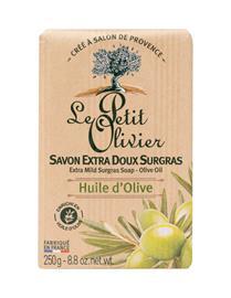 Le Petit Olivier Olive Oil Extra Mild Surgras Soap palasaippua 250 g