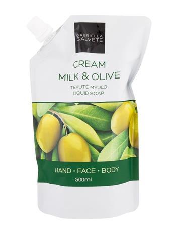 Gabriella Salvete Liquid Soap Milk & Olive nestesaippua 500 ml