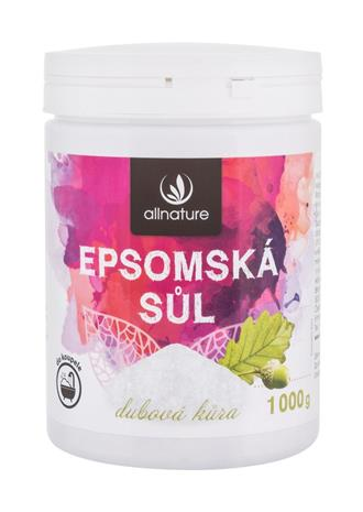 Allnature Epsom Salt Oak Bark kylpysuola 1000 g