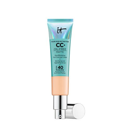 IT Cosmetics Your Skin But Better CC+ Oil-Free Matte SPF40 32ml (Various Shades) - Neutral Medium
