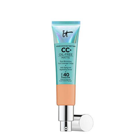 IT Cosmetics Your Skin But Better CC+ Oil-Free Matte SPF40 32ml (Various Shades) - Neutral Tan