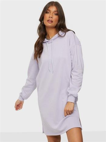 Pieces Pcchilli Summer Ls Hoodie Dress D2D Purple Heather