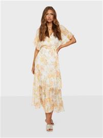 Forever New Rosemary Ruffle Midi Dress